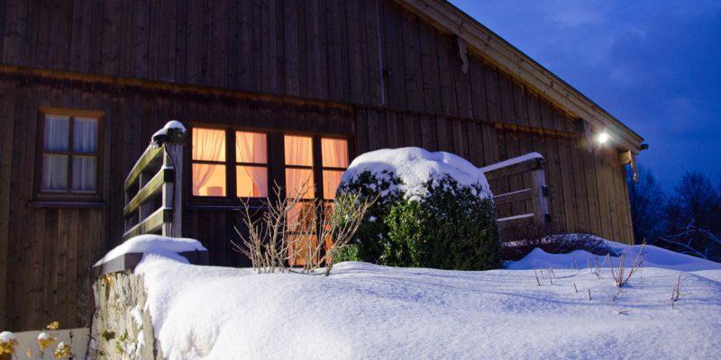 Budererhof im Schnee