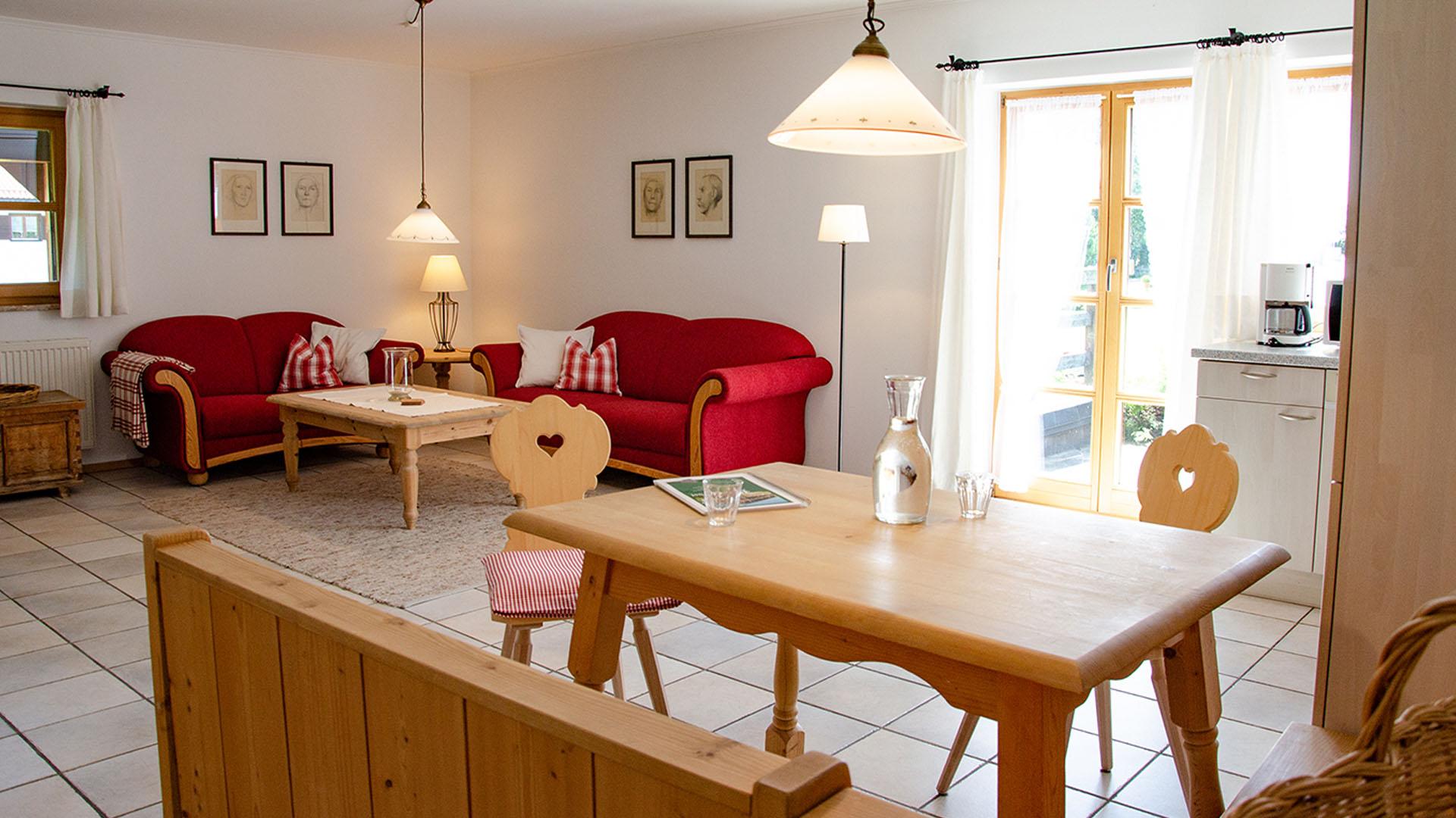 Budererhof Wohnung rot
