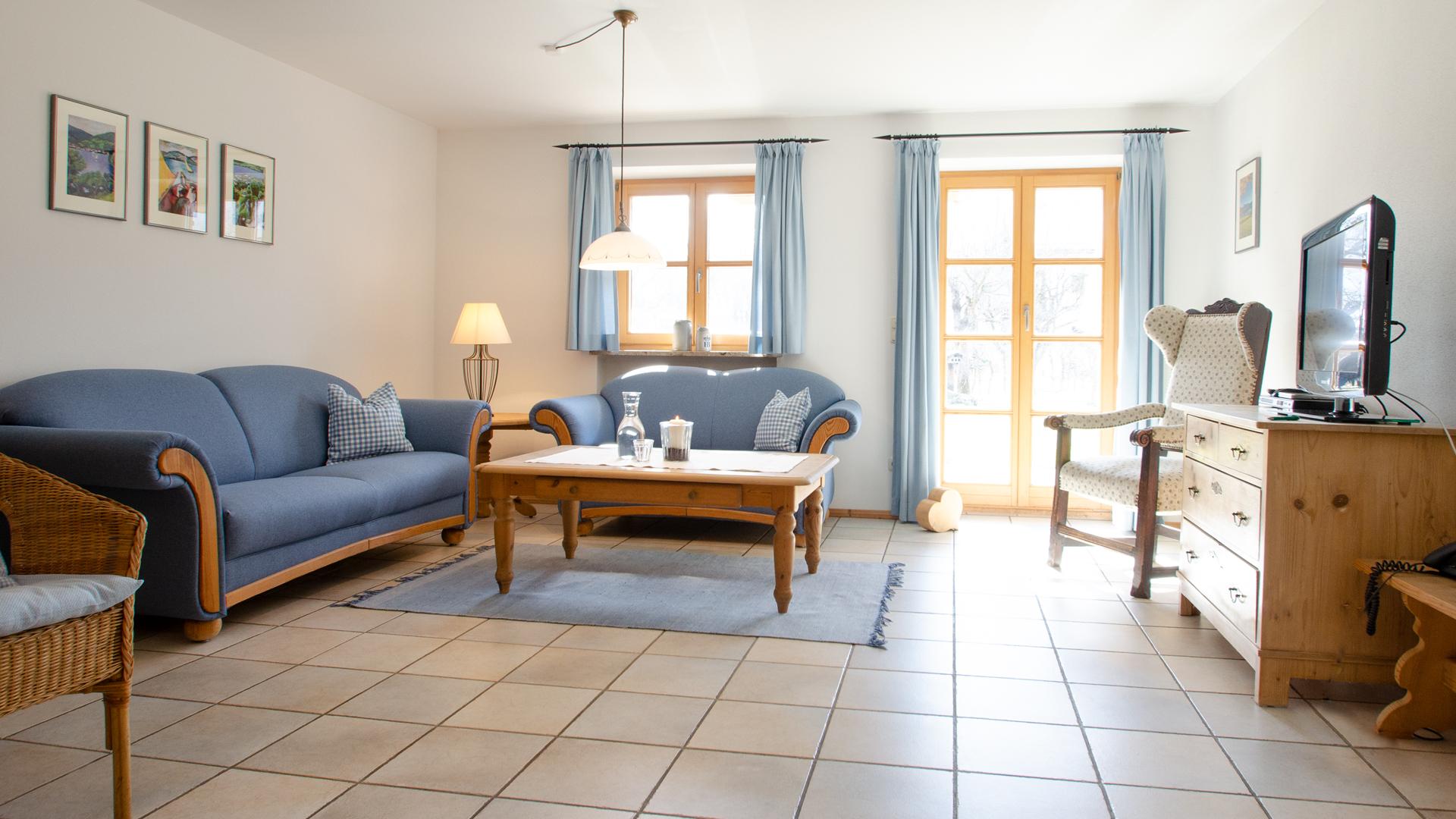 Budererhof Ferienwohnung blau 1